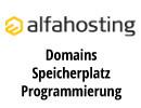 Alfahosting.de - Domains - Speicherplatz - Programmierung