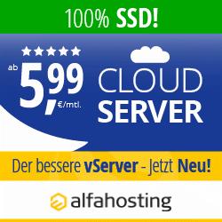 Alfahosting - Cloud-Server der bessere vServer
