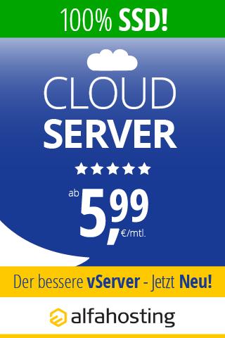 Webhosting Cloudserver