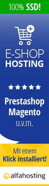 Alfahosting - Onlineshops