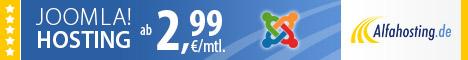 Joomla Webseiten ohne Zwangswerbung mit Domain!