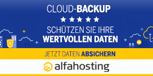 Alfahosting - Cloud-Backup